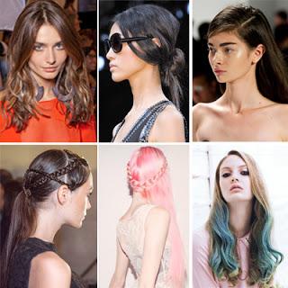 trend model rambut 2014