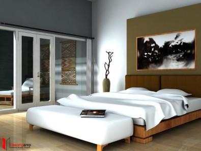 contoh desain kamar tidur minimalis
