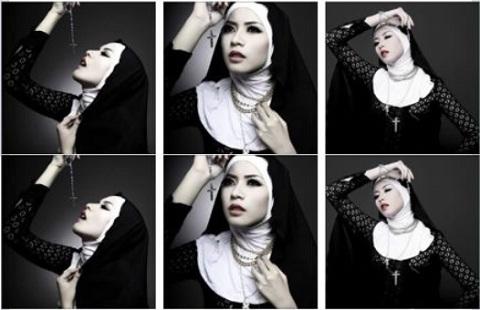 Foto Kontroversial Puteri Indonesia 2014 Elvira Devinamira