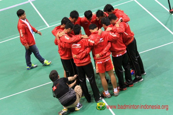 Hasil Pertandingan thomas cup 2014 Indonesia  vs Singapura