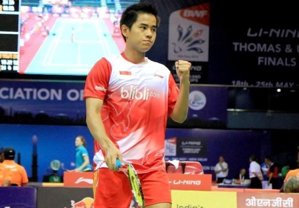Hasil thomas cup 2014 Indonesia vs Singapura