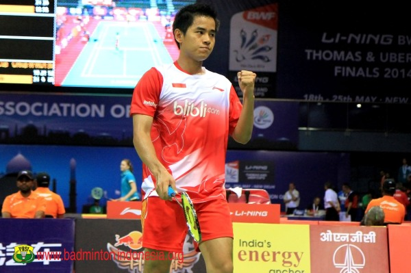 Jadwal Semifinal Thomas Cup 2014 Indonesia vs Malaysia