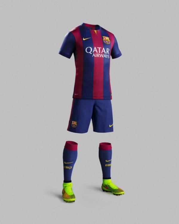 Jersey barcelona Musim 2014-2015 lengkap