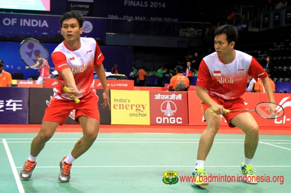 Mohammad Ahsan  dan Hendra Setiawan thomas cup