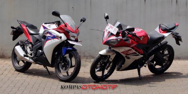 Perbandingan Yamaha R15 vs Honda CBR 150R