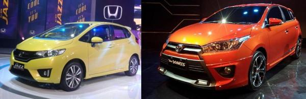 Perbandingan All New Honda Jazz vs All New Toyota Yaris