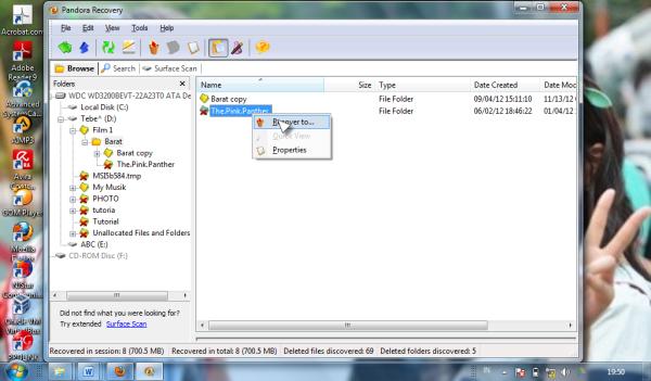 cara mengembalikan file yang terhapus di flasdisk