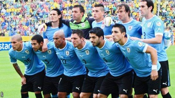 daftar nama pemain uruguay di piala dunia 2014