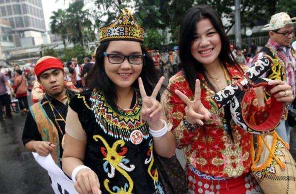 Foto Gadis Cantik Pedukung Jokowi