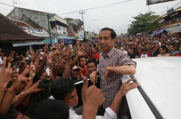 Foto Jokowi Saat Kampanye