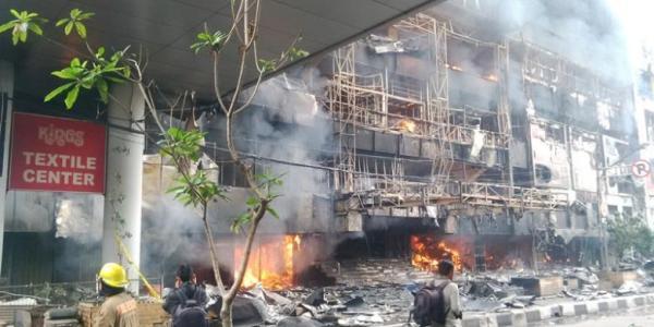 Foto Kebakaran King Badung