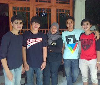 Foto keluarga Aliando Syarief