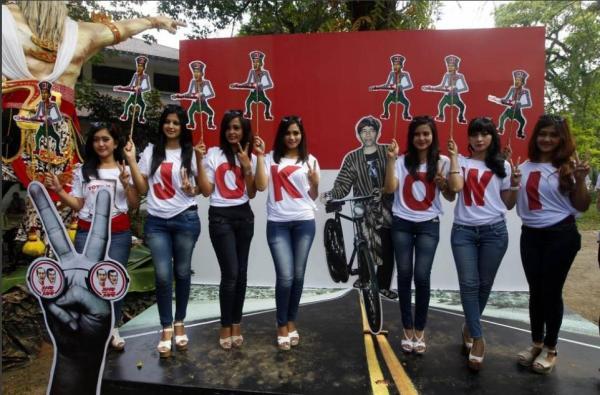 Foto Pendukung Jokowi