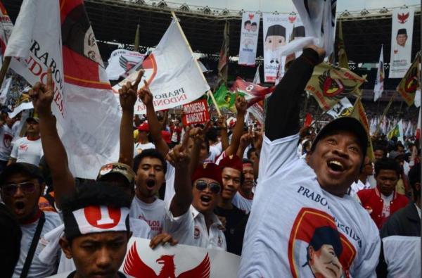 Foto Pendukung Prabowo