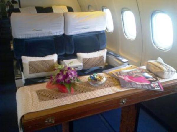 Foto pesawat pribadi JK