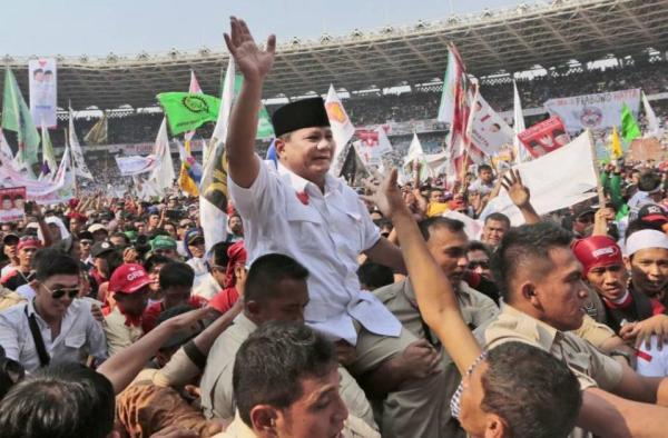 Foto Prabowo Saat Kampanye
