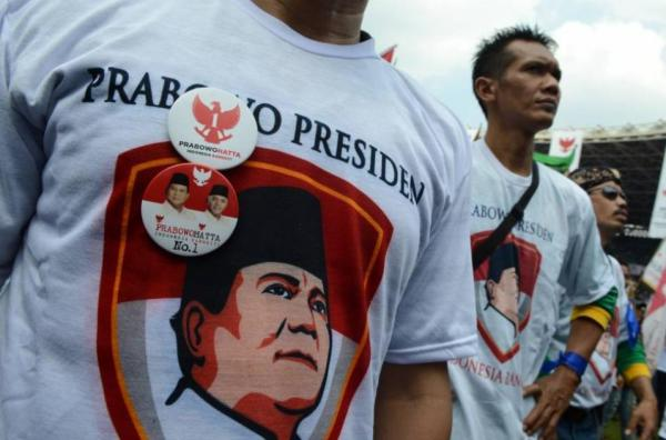Foto Relawan Prabowo