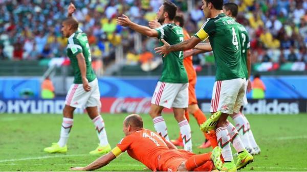Hasil Belanda vs Meksiko