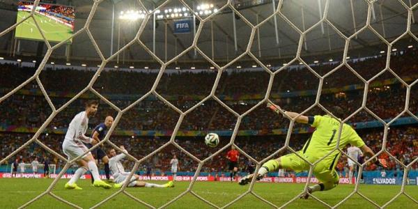 Hasil Spanyol vs Belanda