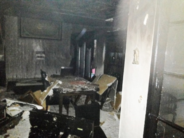 Kronologi Kebakaran Rumah Ustad Jeffry Al Buchory
