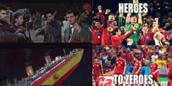 Kumpulan gambar lucu kegagalan Spanyol