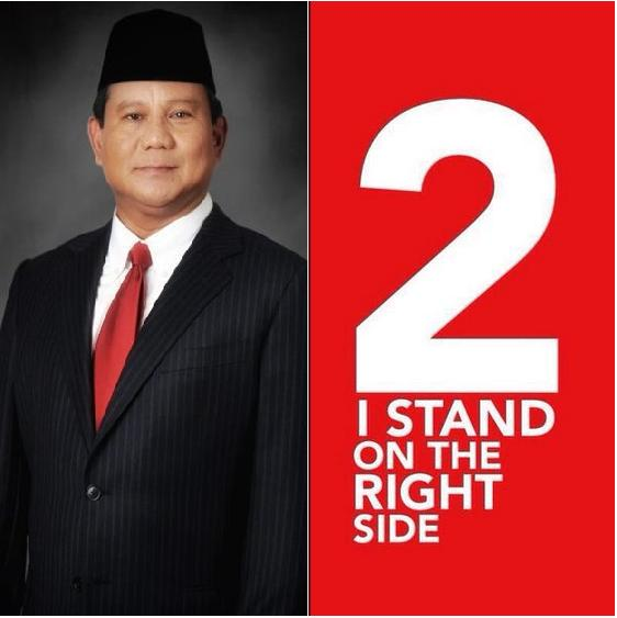I stand on the ringht side