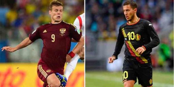 Prediksi Belgia vs Rusia