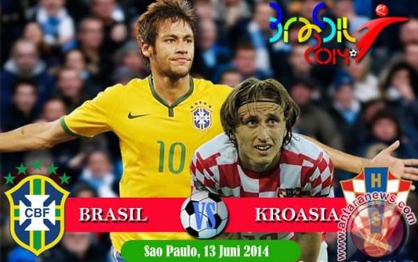 Prediksi Brazil vs Kroasia