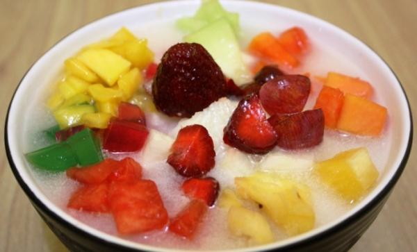 resep dan cara membauat sop buah segar buat buka puasa