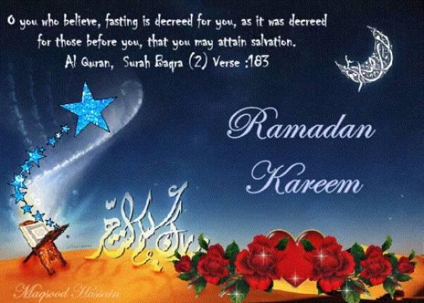 Ucapan selamat puasa ramadhan bahasa inggris