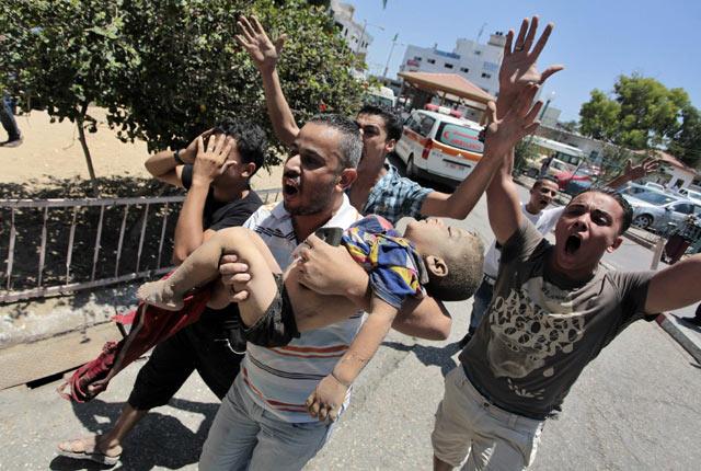 Foto dan Video kekejaman perang di jalur Gaza antara Israel dan Palestine