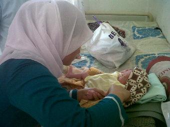 Bayi dikubur hidup hidup di Sumatera Utara