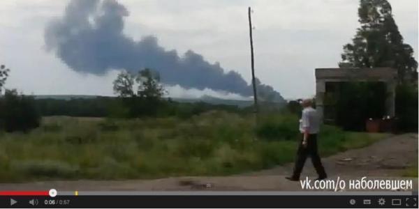 Foto dan video Pesawat Malaysia Airlines jatuh di rusia