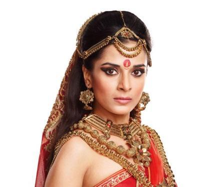 Pooja Sharma Pemeran Drupadi Mahabarata ANTV Biodata dan ...