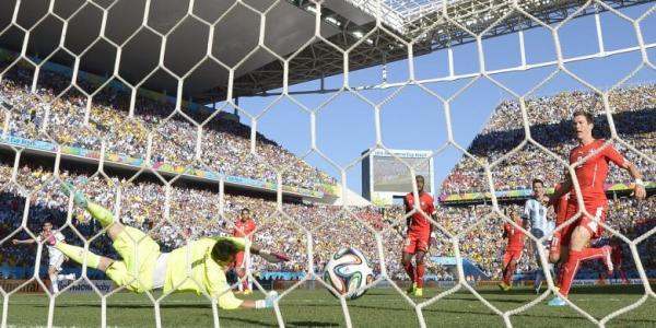 Hasil Argentina vs Swiss Babak 16 Besar Piala Dunia 2014