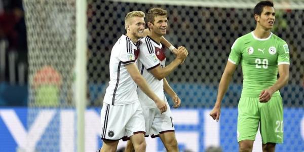 Hasil Jerman vs Aljazair 16 besar piala dunia 2014