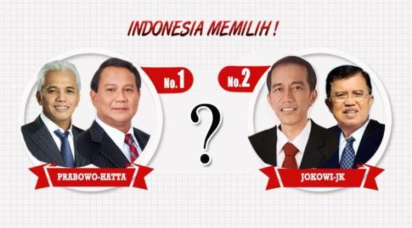 Hasil Perhitungan Cepat Pilpres 2014 Pemenangnya Jokowi atau Prabowo
