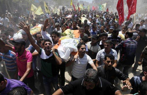 Kekejaman Israel terhadap warga palestina