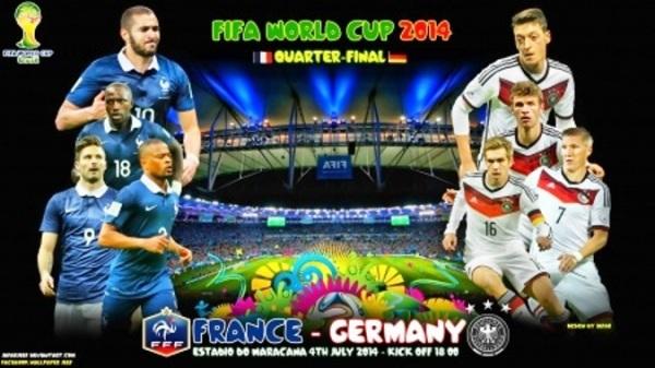 Prediksi Prancis vs Jerman Jadwal Perempat Final Piala Dunia 2014