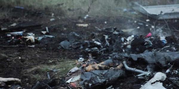 Puing Pesawat Malaysia Airlines ditembak jatuh di ukraina