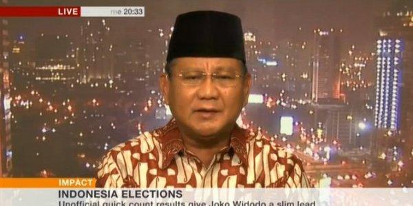 Wawancara Prabowo dengan BBC