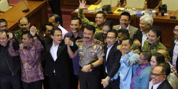 DPR setujui Komjen Budi Gunawan sebagai Kapolri