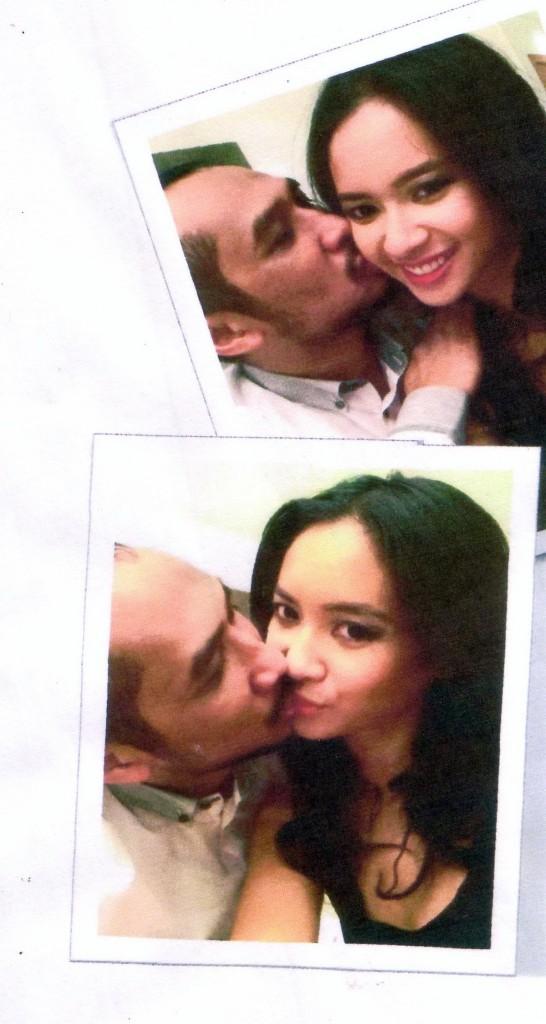 Foto mesum mirip Abraham Samad dan Elvira Devinamira