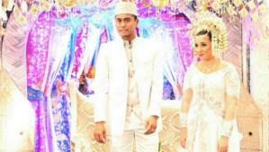 foto pernikahan tontowi ahmad 2