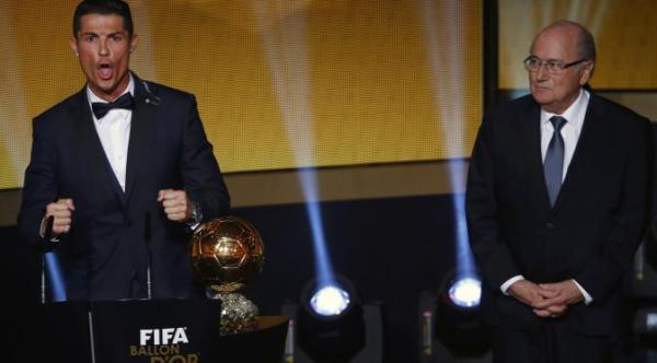 Pemenang Ballon D'or 2014 Cristiano Ronaldo